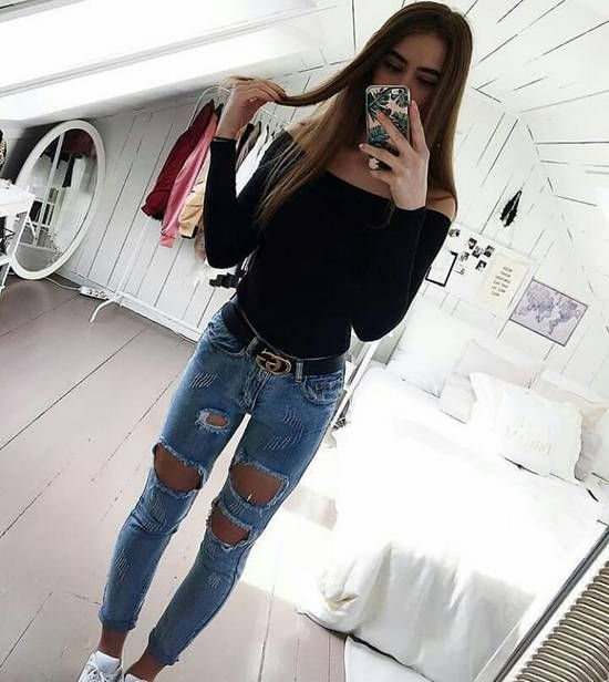49 Cute Back to School Outfits for College Girls [Fall 2018] – Outfits