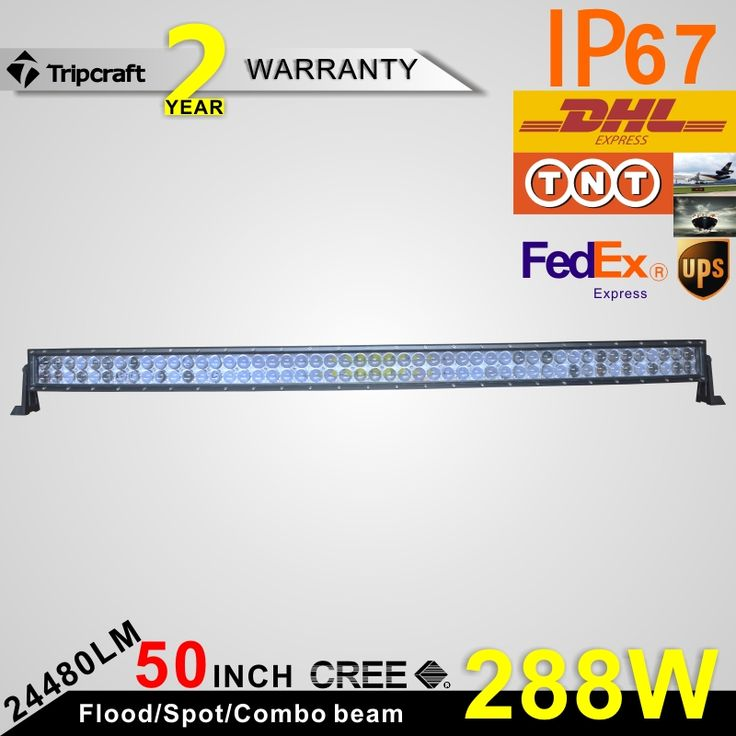 2016 New arrival 288w 4D curve led off road light bar Guangzhou auto parts led headlight bar