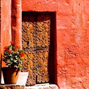 Door in Peru!!: Red Doors, Doors Peru, Architecture Work, Wall Colour, Google Search, Historical Doors, Convention Doors, Bloom Doors, Deco Architecture