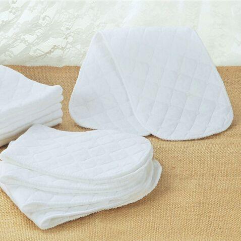 1 قطعة الوليد حفاضات القماش سادة سهل الغسل الحفاض القطن قابل للغسل الطفل الحفاظات
