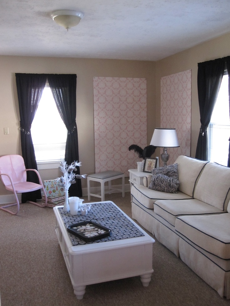 73 best images about shabby chic living room on pinterest fireplaces shabby chic decorating for Shabby chic modern living room ideas