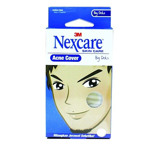 """Nexcare Acne """"Big Dots Pack"""" (Obat Jerawat).  Menutup Jerawat dan mengurangi infeksi akibat kontaminasi udara atau sentuhan tangan.     - Price per Pack.  http://tigaem.com/acne-cover/1144-nexcare-acne-big-dots-obat-jerawat.html  #nexcare #acnebigdots #obatjerawat #3M"""