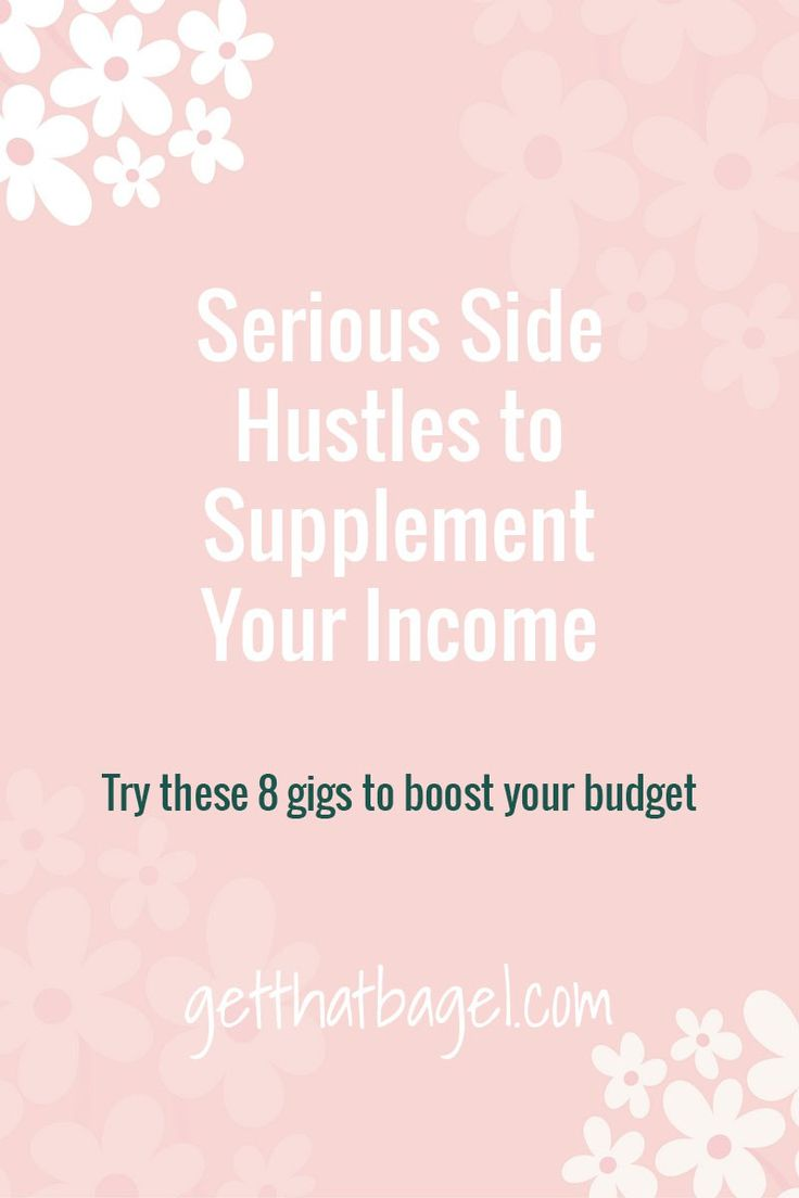 Need some extra income? Try any of these side hustles to supplement your job with some extra cash!