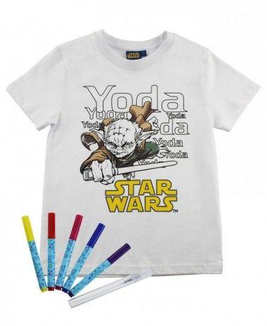 ReDraw Chlapecké kreativní tričko Star Wars Vše s motivem #STAR WARS #hračky #oblečení #hry #kostýmy #knížky #omalovánky #samolepky #tapety #plakáty #rolety #závěsy #povlečení #Hvězdné #války #narozeniny #párty #občerstvení #tip3dmamablog