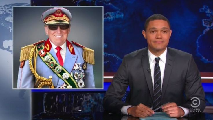 Trevor Noah Just Delivered The Trump Roast We've All Been Waiting For (VIDEO)  GREAT!