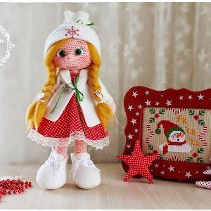 Amigurumi Aşkına: Amigurumi Büyük Safiş Bebek Yapılışı-Amigurumi Free Pattern Doll