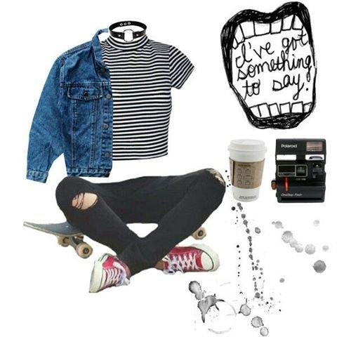 #grunge #urban #rock #punk #alternative #style #outfit -A