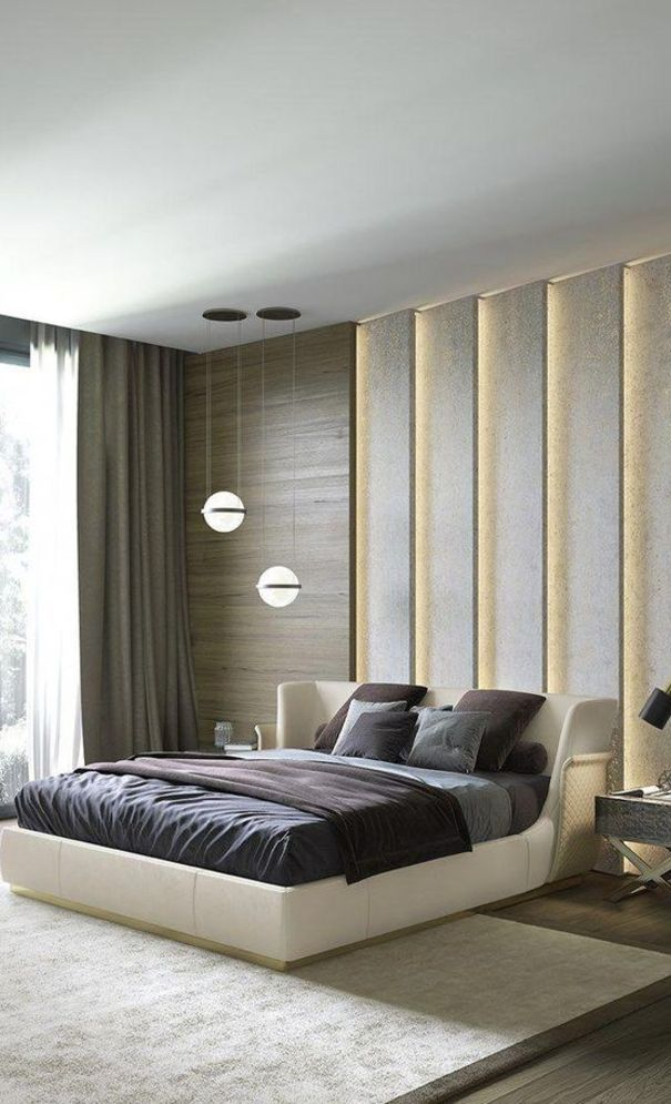 59 New Trend Modern Bedroom Design Ideas For 2020 Part Bedroom Furniture Design Contemporary Master Bedroom Design Ideas Modern Contemporary Bedroom Furniture