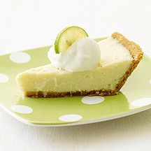 Creamy Lime Pie - I love this recipe... Not too sweet and healthier for you:)