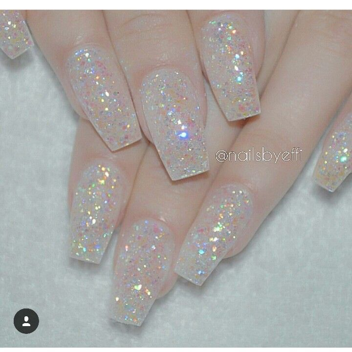 17 best ideas about clear acrylic nails on pinterest