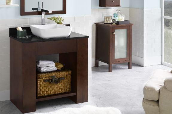 1000 Images About Bathroom Vanity Cabinets On Pinterest
