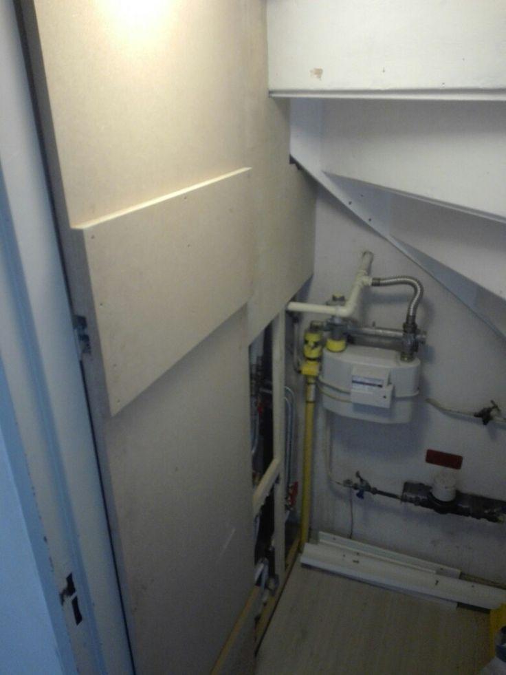 Meterkast in voorraadkast wegerken