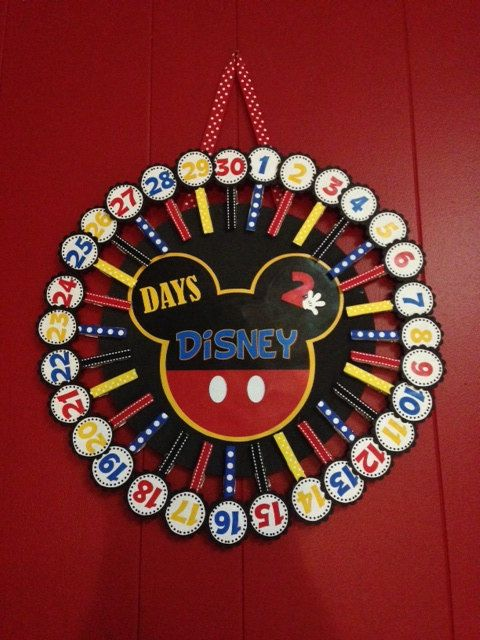 Days-2-Disney Countdown Calendar Disney Countdown by bkstudio