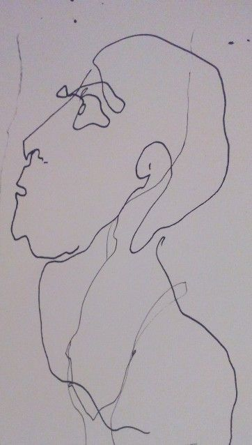 No name, drawing by T. Danilovic