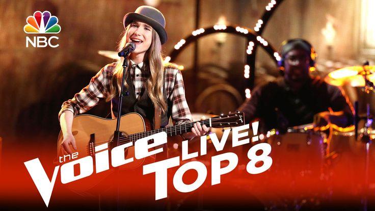 "The Voice 2015 Sawyer Fredericks - Top 8: ""Simple Man"""