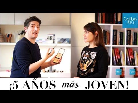 Curso de maquillaje rejuvenecedor!! 5 años más joven con Martin Catalogne - Caribe Azul - YouTube