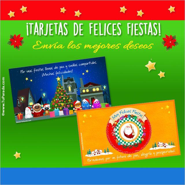 Postales de felices fiestas, Navidad, http://www.tuparada.com/tarjetas/