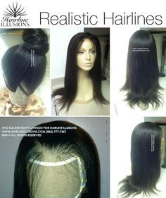 Wigs by Egypt Lawson - Realistic hairlines!