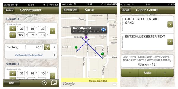 Geocaching App iPhone