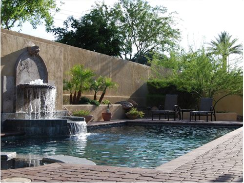 1000 images about arizona yard and garden ideas on for Garden pool in arizona