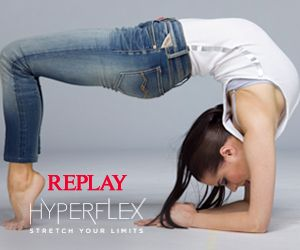 Replay Hyperflex jeans feature high elasticity, excellent fabric recovery and superior comfort. Finally you can #StretchYourLimits at your leisure!