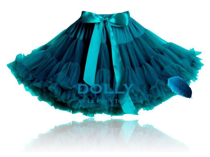 Dolly sukně Modrý ptáček Petti tyrkysová