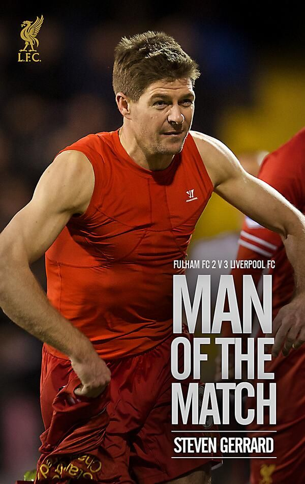 Steven Gerrard. Liverpool Captain.