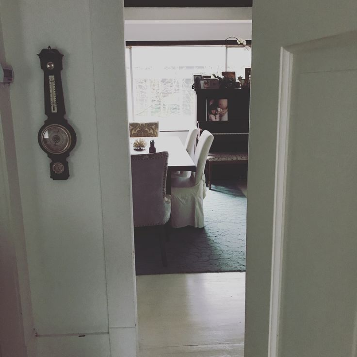 White wash floors w/ porch paint
