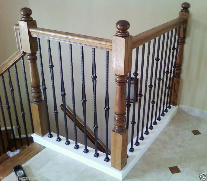 Details About Affordable Stair Parts Hammered Stair