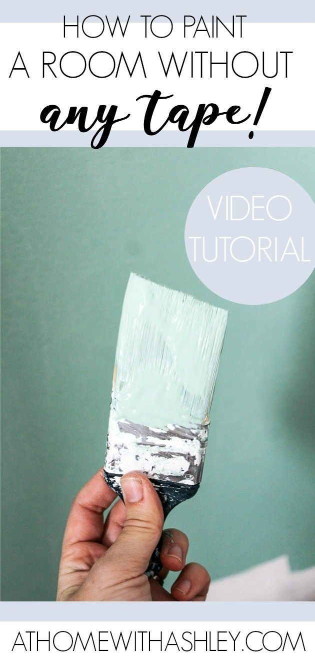 How To Paint A Wall Super Quick Room Paint Wall Painting Painting Tips