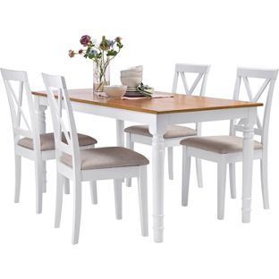 Addington Dining Table And 4 Chairs From Homebasecouk