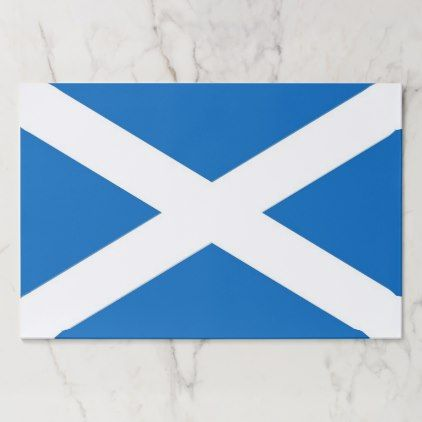 #stylish - #Tearaway paper pad with Flag of Scotland