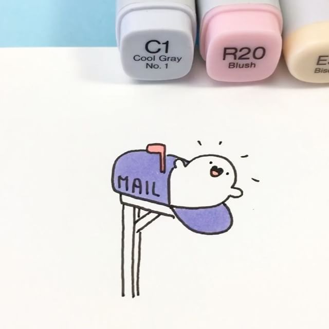 BOO! ✨ Heads up! If you ordered a Spooky Plushie, your mailbox will be haunted very soon  If you would like to give a member of the McCute clan a home to haunt, they are now available on shopkirakira.com  Link in bio ✨ • • #kawaii #spookymccute #spooky #haunted #doodle #copicmarkers #coloring #かわいい #可愛い