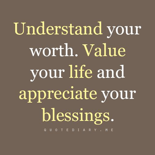 how to add value in your life