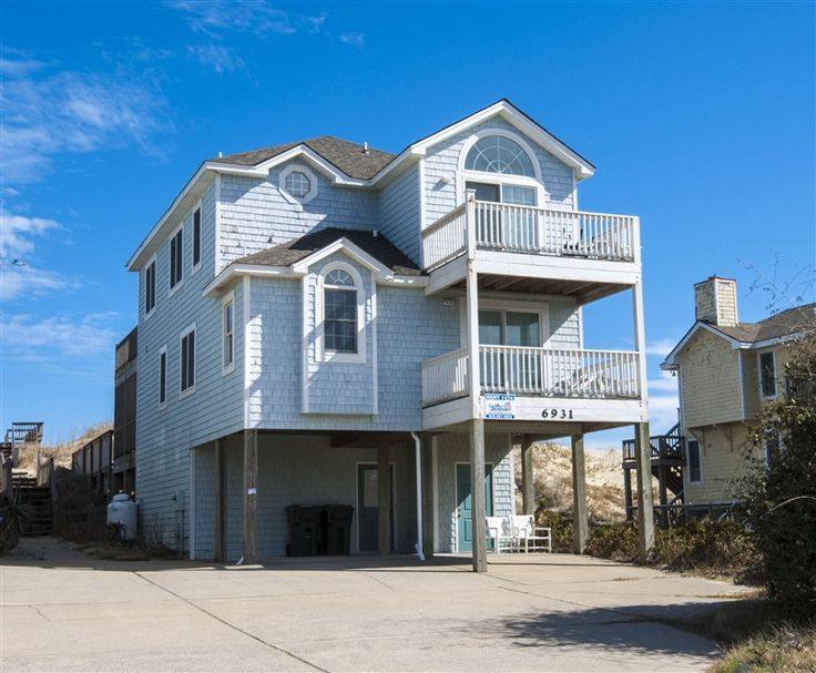 SWEET ISABEL  l Nags Head  NC   Outer Banks Vacation Rental Home l  Oceanfront home with six bedrooms masters   ocean and sound views  private  pool. 17 Best images about Oceanfront Vacation Rentals on Pinterest