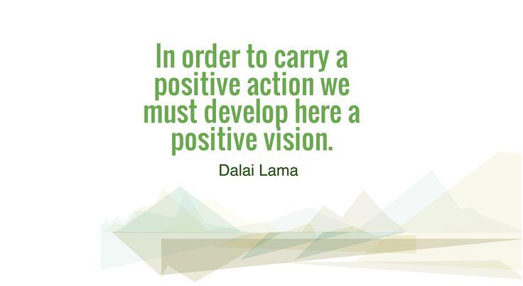 Positivity begets positivity. :)
