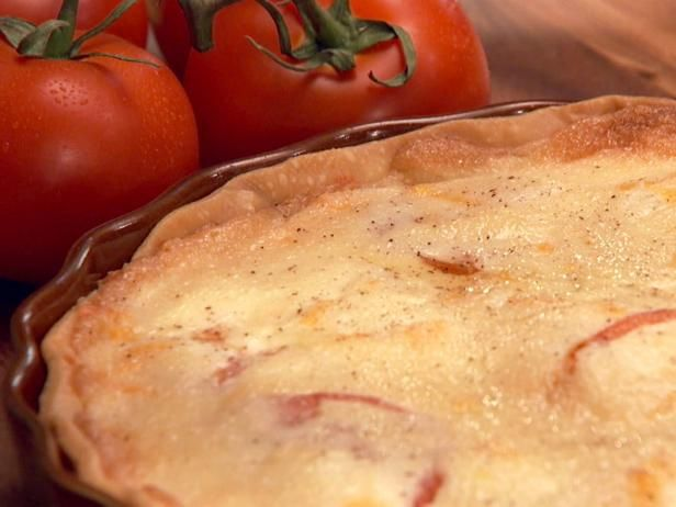 Get Tomato Pie Recipe from Food Network