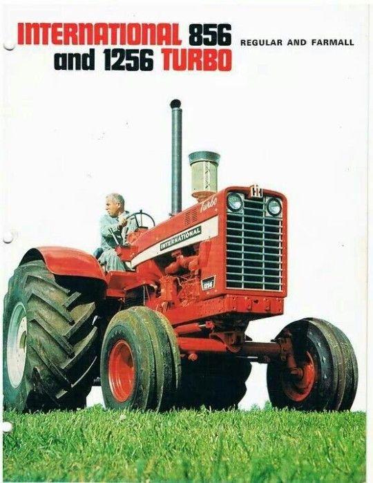 International tractor advert