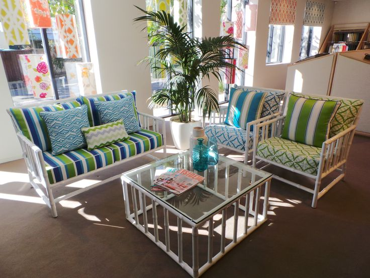 Warwick Fabrics Sydney showroom, featuring the Coolum Collection, July 2014