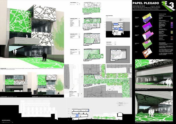 laminas arquitectura presentacion - Buscar con Google