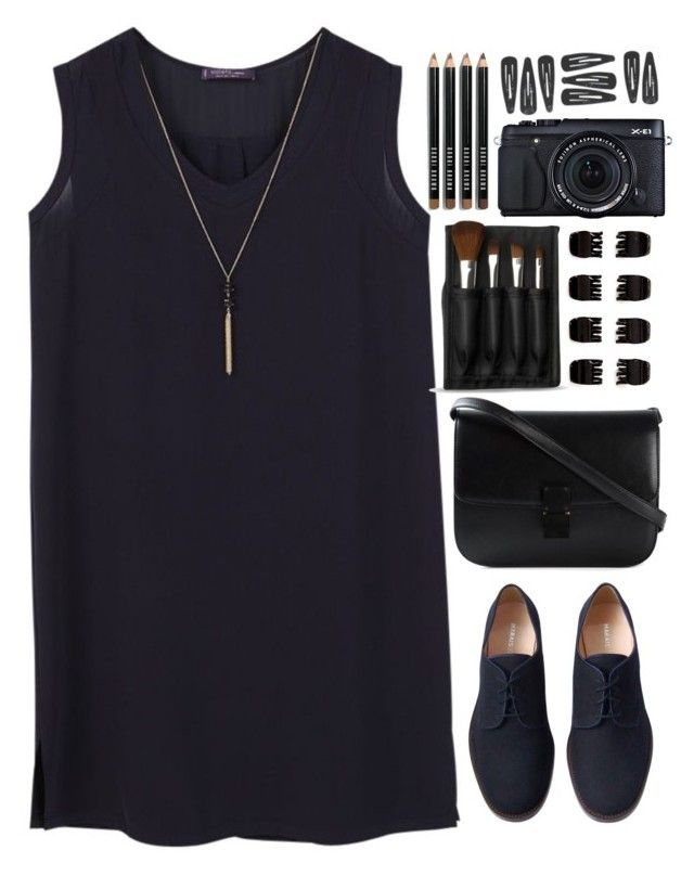 """""""Cause your love kept me alive and made me insane"""" by annaclaraalvez ❤ liked on Polyvore featuring Violeta by Mango, Marais, The Body Shop, Fujifilm, CÉLINE, Forever 21 and Bobbi Brown Cosmetics"""
