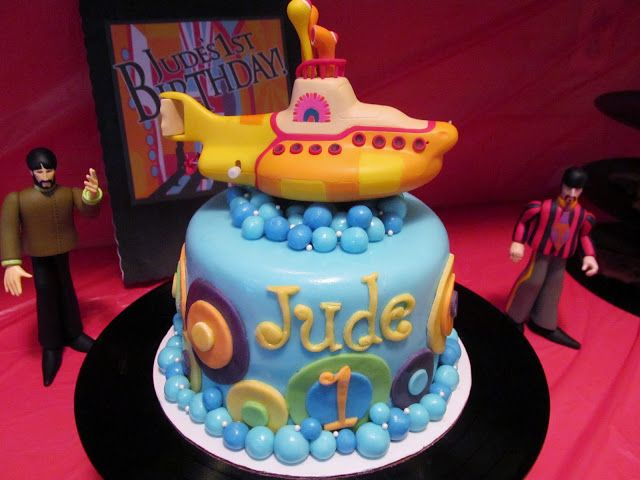 See Our Sweet Life: Hey, Jude's 1! A Beatles Birthday Party