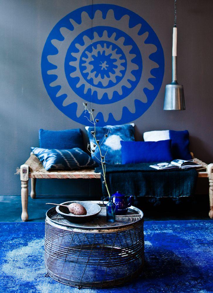 Blue blue blue - Jeroen van der Spek #blueinterior