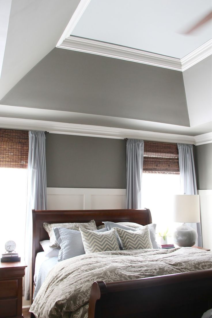 Best 25 tray ceilings ideas on pinterest recessed for Sherwin williams ceiling paint colors