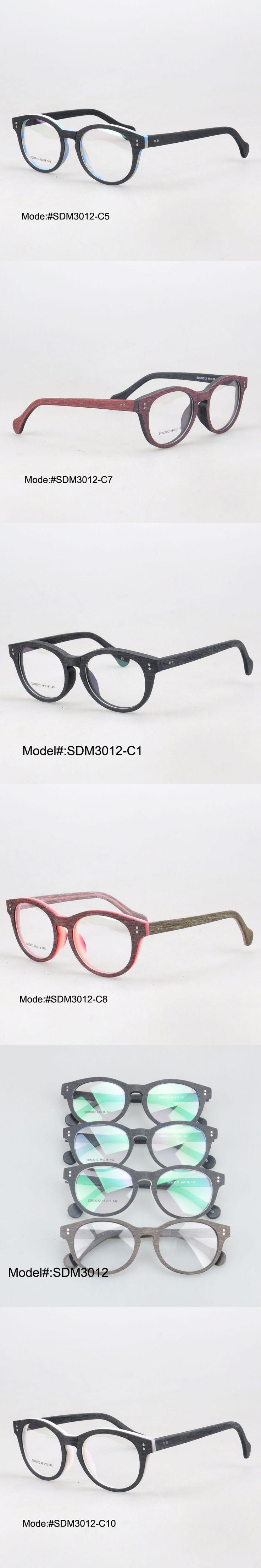MY DOLI SDM3012 new arrival full rim fashionable acetate imitating wood glasses myopia spectacles optical frames eyewear