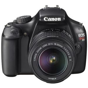 Canon T3: Picture 1 regular $419 refurbished at Adorama