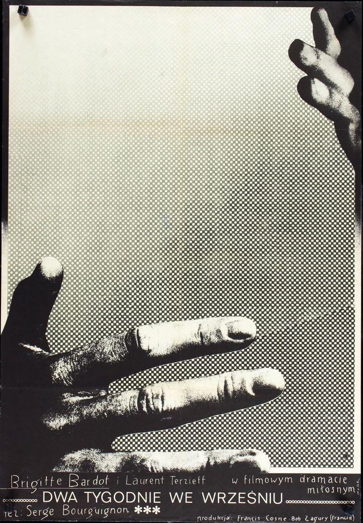Two Weeks in September (Serge Bourguignon, 1967) Polish design by Bronislaw Zelek