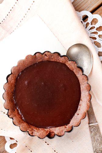 Tarte au chocolat cru de Geneviève Grandbois - Châtelaine