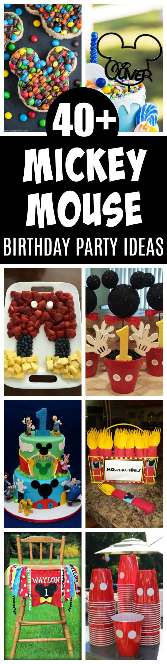 40+ Mickey Mouse Party Ideas - Pretty My Party