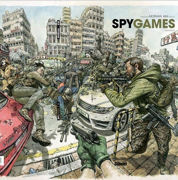 Spy Games è il titolo del fumetto realizzato daKim Jung Gi per la sceneggiatura del francese Jean David Morvan (Spirou et Fantasio,Sir PyleeMerlin). L'albo è pubblicato da Glénat. La notizia...